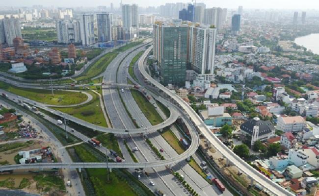 Lực cầu của thị trường căn hộ Sài Gòn cuối năm tập trung chủ yếu ở phía Đông và Nam thành phố.