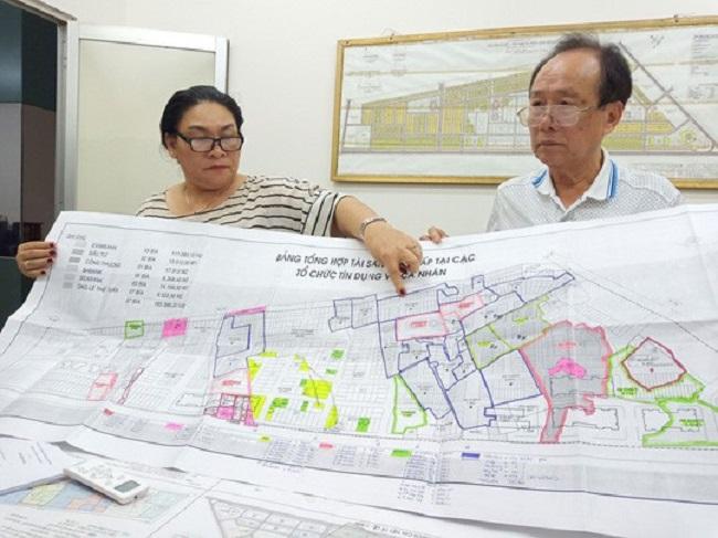 Lãnh đạo Công ty Ô Cấp cung cấp những hồ sơ liên quan đến dự án