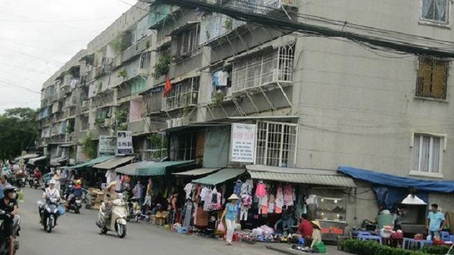 Chung cư Thanh Đa (Bình Thạnh) có nhiều block nằm trong Chương trình cải tạo, di dời chung cư cũ xuống cấp của Tp.HCM.