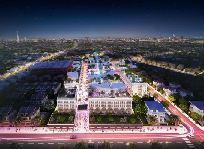 D-One Sài Gòn sở hữu phố đi bộ 3D dài nhất Tp.HCM