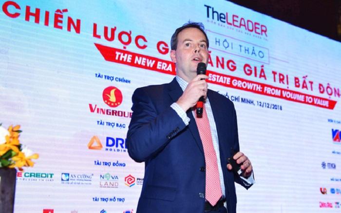 Ông Stephen Wyatt - Tổng giám đốc Jones Lang LaSalle Việt Nam