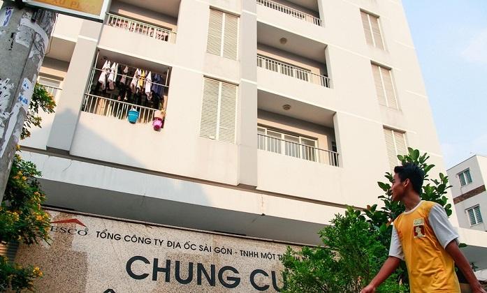Chung cư Tô Hiến Thành (phường 12, quận 10) một dự án nhà ở xã hội hiếm hoi tại Tp.HCM.