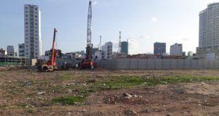 """Cận cảnh chậm tiến độ của khu đất """"vàng"""" dự án KDC cồn Tân Lập"""