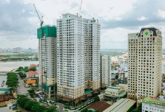 Ảnh chụp dự án Novaland Saigon Royal Quận 4