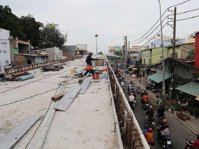Ngay khi vấn đề mặt bằng được giải quyết, cầu vượt Nguyễn Kiệm – Nguyễn Thái Sơn sẽ được hoàn thiện.
