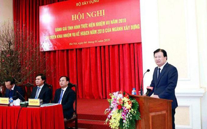 Phó Thủ tướng Chính phủ Trịnh Đình Dũng phát biểu chỉ đạo Hội nghị.
