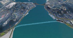 Dự án có chiều dài toàn tuyến 2.750 m, kết nối hai phường Bãi Cháy và Hạ Long, Tp. Hòn Gai
