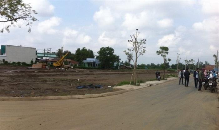 Đất nền ven Sài Gòn cũng tăng giá mạnh.