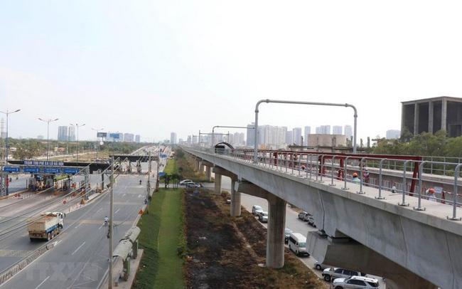"""Công trình tuyến metro số 1 đang được Thành phố Hồ Chí Minh thúc đẩy để """"về đích"""" cuối năm 2020."""