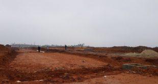 Nhiều khu đô thị tại TP Moáng Cái đang bắt đầu xây dựng hạ tầng. Ảnh: KĐT Promexco Móng Cái