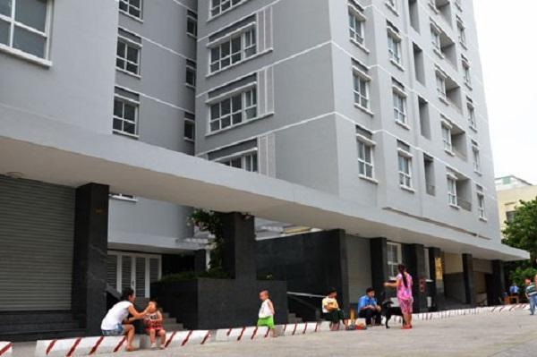 Một dự án nhà ở xã hội ở quận 10, TP HCM Ảnh: Tấn Thạnh