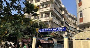 Chung cư 518 Võ Văn Kiệt, phường Cầu Kho, quận 1