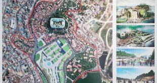Bản vẽ thiết kế đô thị khu Hòa Bình - Đà Lạt.