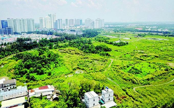 Khu dân cư Phước Kiển (huyện Nhà Bè) - dự án của Quốc Cường Gia Lai một trong 12 dự án bị ách tắc trên địa bàn TP HCM