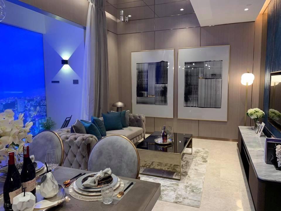 Phòng khách dự án The MarQ