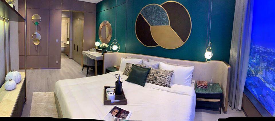 Phòng ngủ lớn dự án The MarQ