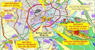 Quy hoạch các tuyến đường vành đai tại TP.HCM
