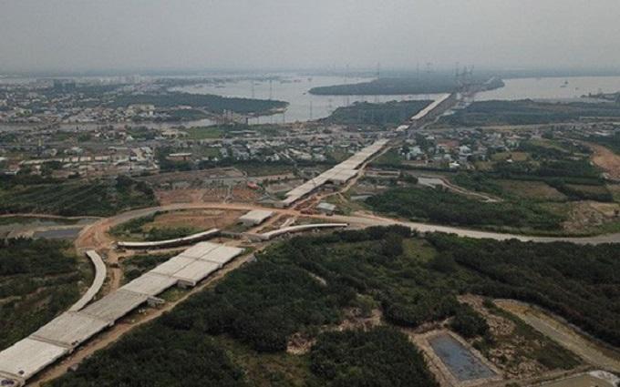 Công tác GPMB cao tốc Bến Lức - Long Thành phải xong trước 1/6/2019. (Ảnh: Tuổi trẻ)