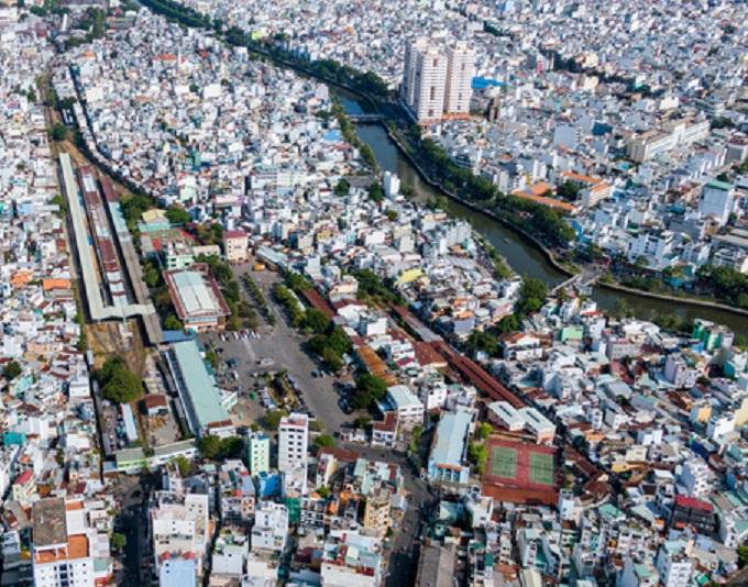 Khu trung tâm ga tàu lửa Hoà Hưng cũng sẽ được cải tạo mới, tạo thêm quỹ đất phát triển đô thị ven kênh.