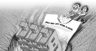Nhiều người dân mất tiền, mất nhà do tin tưởng chủ nhà, mua bán nhà đất bằng hình thức lập vi bằng. Ảnh minh họa