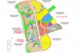 Bản đồ quy hoạch các phân khu đô thị tại Khu đô thị sinh thái Nhơn Hội