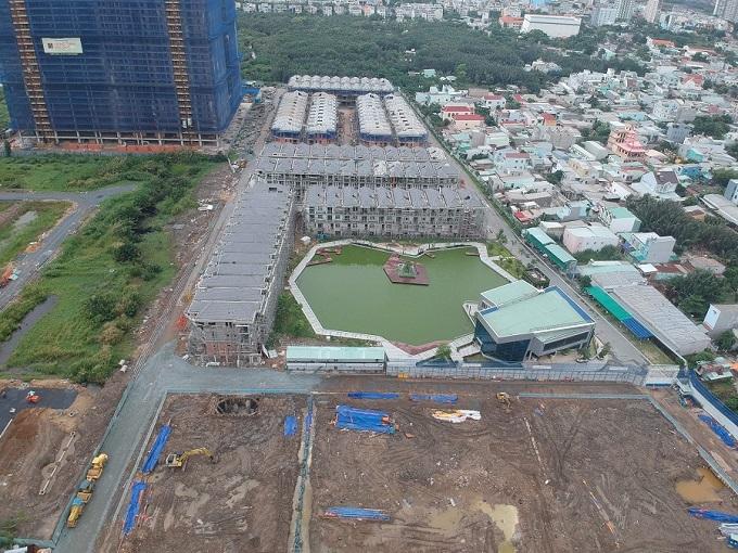 Dự án Green Star Sky Garden bị đình chỉ 60 ngày.