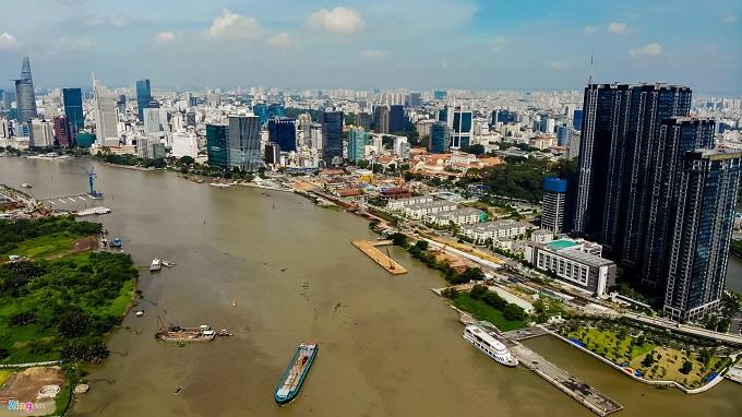 Các dự án căn hộ có lợi thế ven sông luôn có thanh khoản tốt khi bung ra thị trường