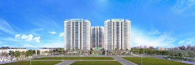 Phối cảnh dự án căn hộ Lovera Vista, mở bán vào tháng 10.2019. Giá dự kiến từ 1,5 tỷ đồng mỗi căn 2 phòng ngủ (chưa VAT).