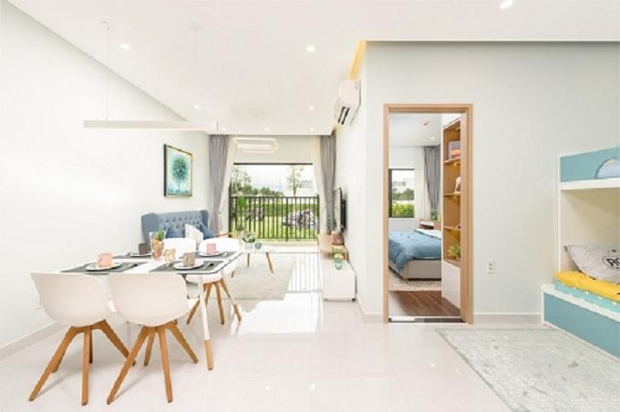 Các căn hộ tại Lovera Vista thiết kế thông minh, giúp khách hàng tận dụng tối đa diện tích của căn nhà, đồng thời đón ánh sáng, nắng gió từ thiên nhiên bên ngoài.