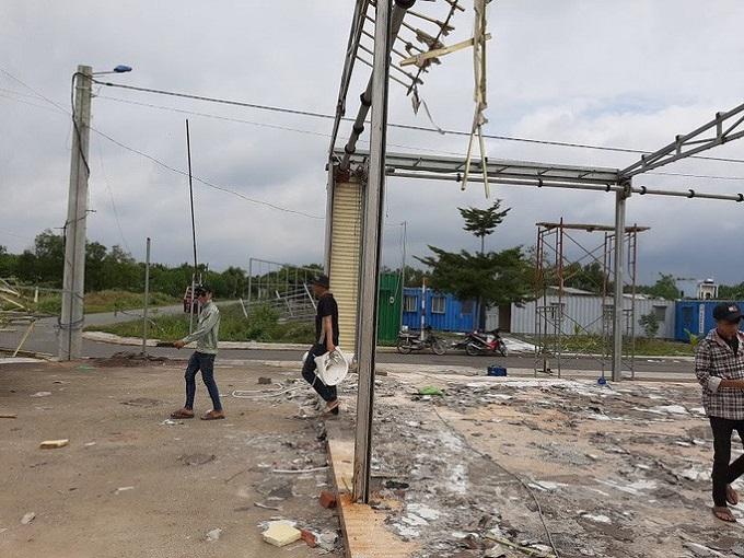 Nơi đây từng được xem là một văn phòng của Công ty Alibaba tại tỉnh Đồng Nai (ảnh chụp vào trưa 19-9)Ảnh: Xuân Hoàng