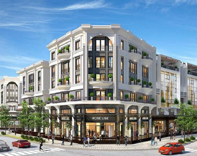 Giá nhà phố tại TP.HCM tiếp tục tăng nhất là ở những tuyến đường lớn, khu đô thị đông dân cư - Ảnh phối cảnh