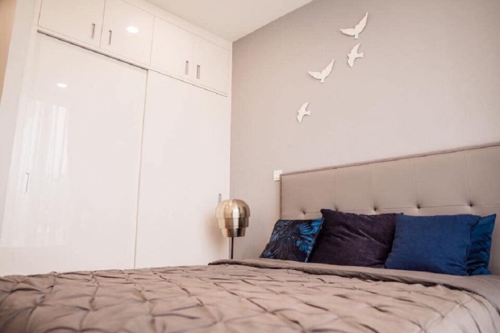 Phòng ngủ Central Premium được thiết kế trang nhã và thanh lịch