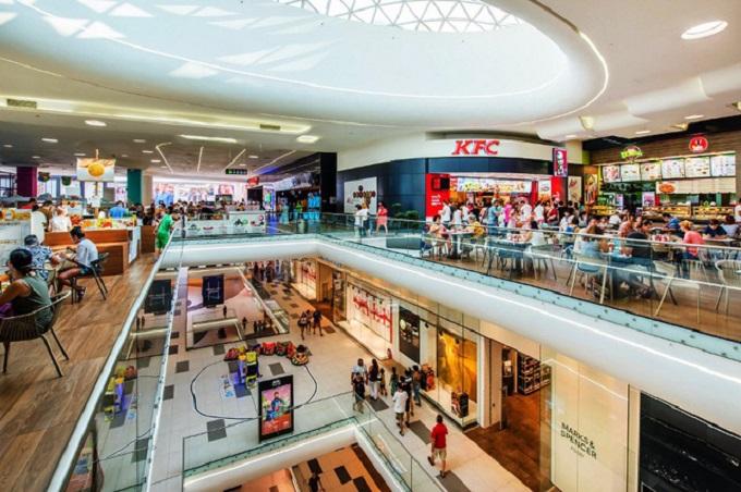 Phối cảnh tầng 3 trung tâm thương mại của dự án Central Premium