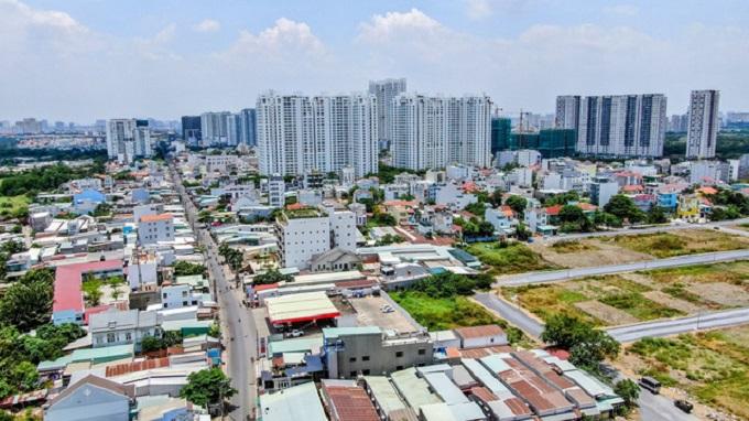 """Giới đầu tư nhận định, trong cơn """"khát đất"""", những dự án liền kề Sài Gòn sở hữu pháp lý sạch và có mức giá khoảng 1,1 - 1,4 tỷ sẽ là dòng sản phẩm được thị trường hấp thụ mạnh mẽ ở cả thị trường sơ cấp lẫn thứ cấp"""