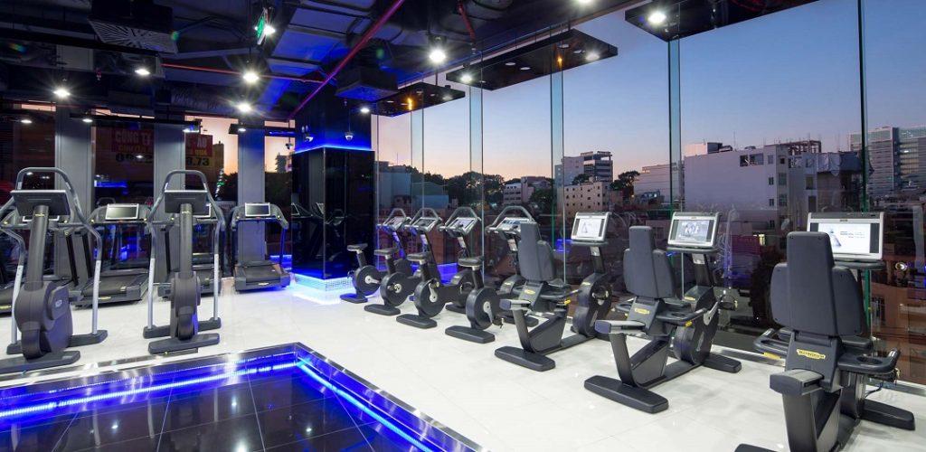 Phòng tập Gym cao cấp California tại lầu 5