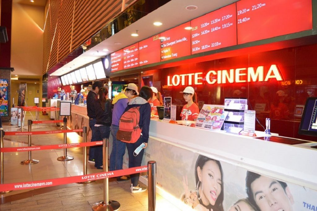 Tiện ích nội khu Central Premium rạp phim Lotte Cinema
