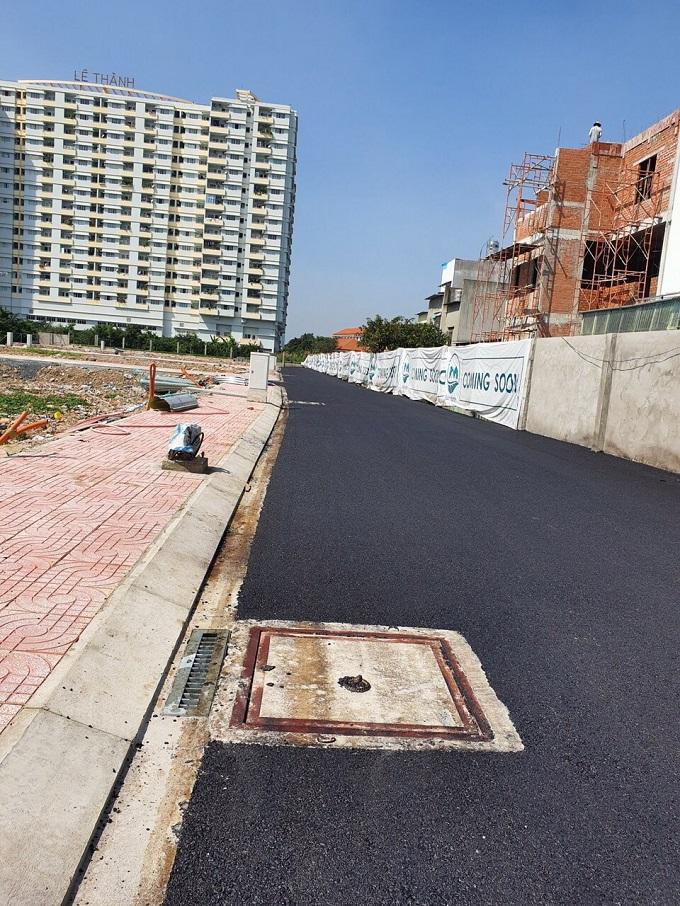 Ảnh thực tế tiến độ Dự án Lux Home Garden Bình Tân 2019
