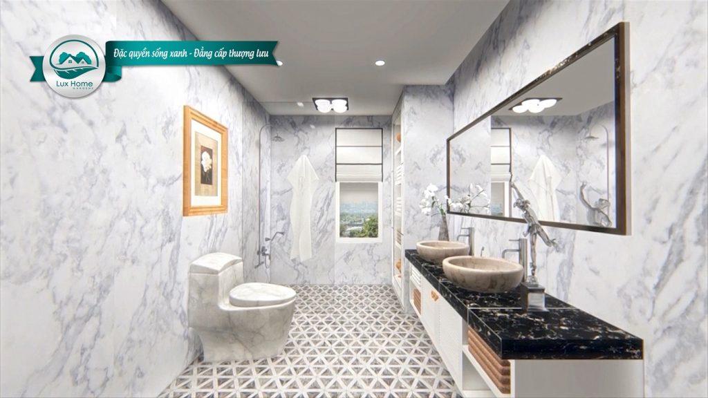 Phối cảnh WC dự án Lux Home Garden