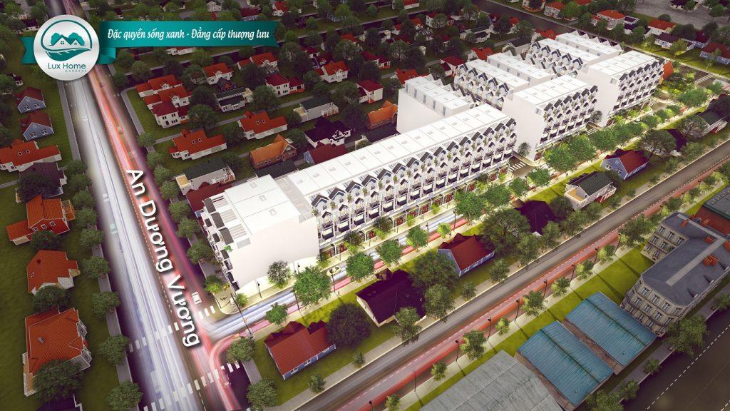 Dự án nhà phố Lux Home Garden Mặt tiền An Dương Vương Bình Tân