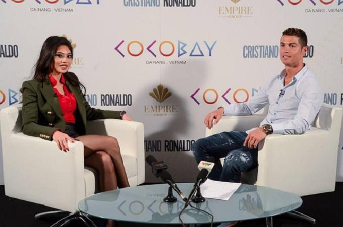 Cocobay Đà Nẵng từng gây choáng tại Việt Nam khi chủ đầu tư thông tin Ronaldo sẽ mua nhà tại dự án này.