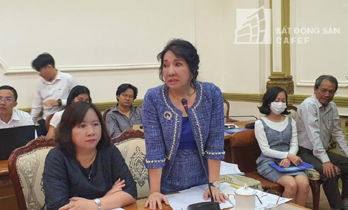 """Nguyễn Thị Như Loan, đại diện Công ty Quốc Cường Gia Lai cũng có 2 dự án đang bị """"tắc"""""""