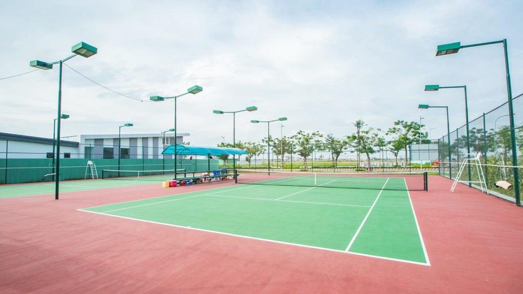 Tiện ích nội khu dự án Celesta Rise Sân Tennis chuẩn quốc tế