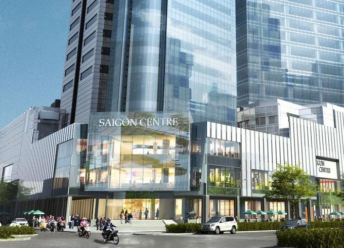Tháp 1 của toà nhà Saigon Centre.