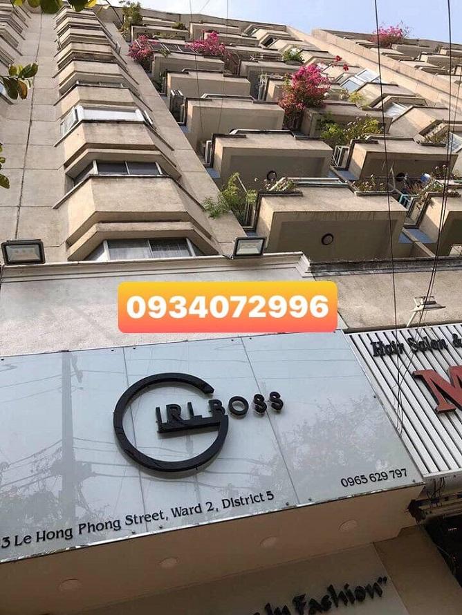Ảnh bên ngoài chung cư mặt tiền Lê Hồng Phong