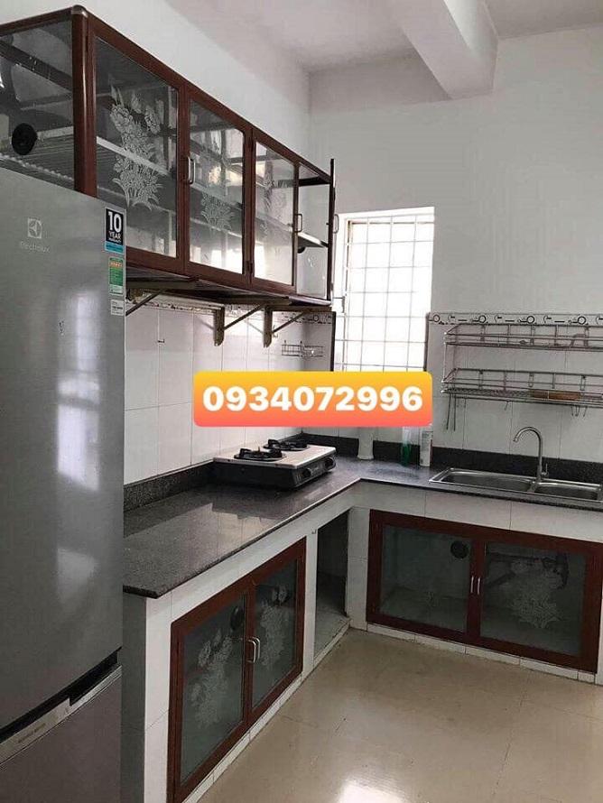 Gian bếp trong nhà căn hộ Mặt tiền Lê Hồng Phong