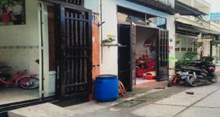 Hiện trạng khu đất có diện tích 850 m2 ở ấp 2C, xã Vĩnh Lộc B, huyện Bình Chánh, TP HCM đang diễn ra tranh chấp
