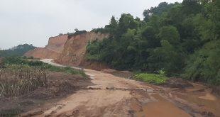 Đất lâm nghiệp tại Lạng Sơn bị san nền dù chưa được cấp phép. Ảnh: GTVT