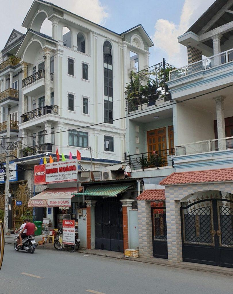 Hình chụp đường Hoàng Bật Đạt, Tân Bình